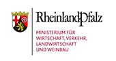 Logo: Rheinland-Pfalz - Ministerium für Wirtschaft, Verkehr, Landwirtschaft und Weinbau